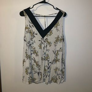 Maurice'sFloral T Back Tank